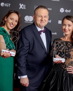 Jarosław Dąbrowski - IGT Polska & Magda Jander & Anna Ogar